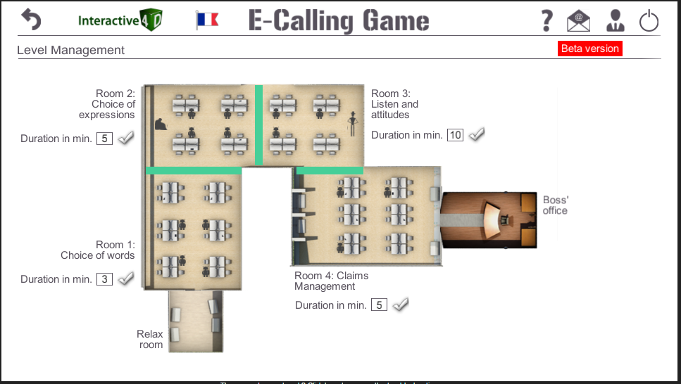 E-Calling Game level management